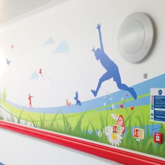 Wall Graphics Enhanced Environments