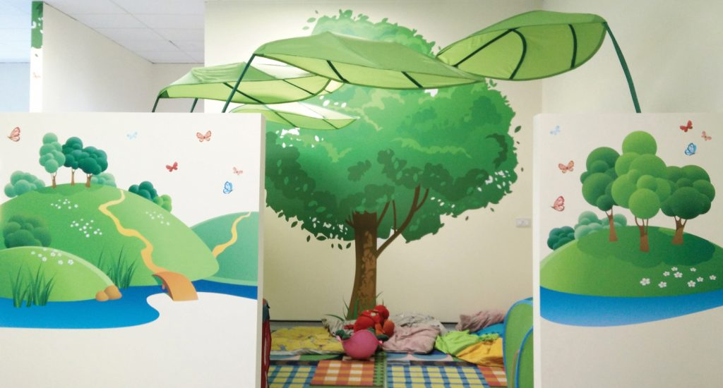 Tree and Country theme wall graphics